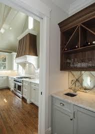 mirror backsplash kitchen 8 mirror types for a fantastic kitchen backsplash
