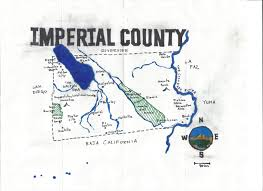 Colorado Desert Map by California Fool U0027s Gold U2014 An Imperial County Primer Eric Brightwell