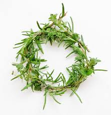 herb wreath mini herb wreaths popsugar smart living