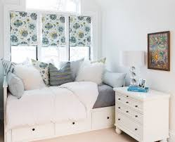 ikea mandal bed for a contemporary bedroom with a wall mural and ikea mandal bed for a transitional bedroom with a bed storage and shanty bay lake house