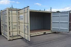 openside open side storage containers feature double hinged doors