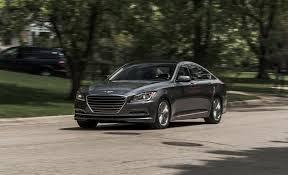 2015 hyundai genesis v 6 awd test review car and driver