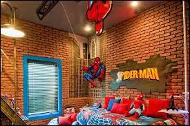 Spiderman Decoration Create Boys Bedroom Decoration With Spiderman Theme Home A Holic