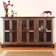 Artisan Home  Antique Casual Multicolor Console With  Iron - Artisan home furniture