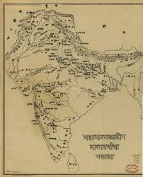 Map Nepal India by Ancient Maps India Timeline Ramayana Mahabharata U2013 Ramani U0027s Blog