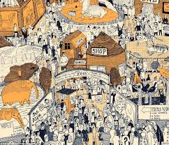 david robinson artist spends hundreds of hours drawing maps of
