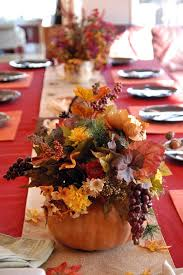 thanksgiving day decoration for table themontecristos