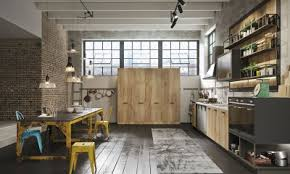 cuisine loft loft collection system industrial kitchens from snaidero
