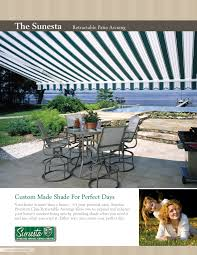 Oasis Awning Retractable Awnings Clearwater Sunsetter Patio Awning Tampa West