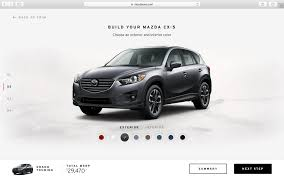 mazda motors usa mazda usa configurator database