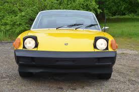 porsche 914 yellow 1975 porsche 914 2 0 liter vintage werkes