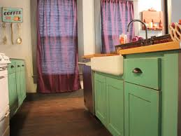 create a white antiquing kitchen cabinets