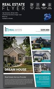simple real estate flyer template real estate ref pinterest