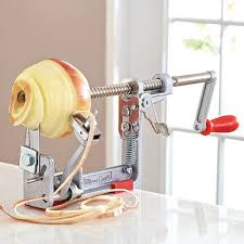 pam chef apple peeler apple peeler corer slicer shop pered chef us site