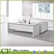 china sale new executive desk in white mfc cf b02 china