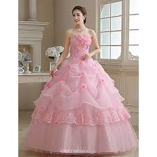 gown wedding dress gown princess wedding dress blushing pink floor length
