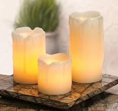 2 3 4 inch candle impressions battery operated candles set