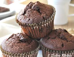 death by chocolate zucchini muffins 2 sisters recipes by anna
