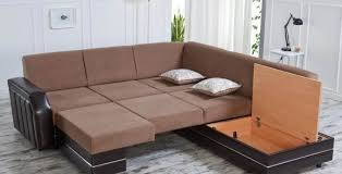 Leather Sofa Wooden Frame Sofa Small Living Room Couches Sofa Wooden Table End Table Table