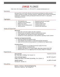 Maintenance Resume Examples Best Entry Level Mechanic Maintenance Janitorial Resume Example