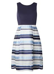 navy and ivory stripe prom dress view all sale sale dorothy
