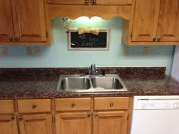 Formica Kitchen Countertops Kitchen Painted Laminate Countertops Ramblings Of This Southern