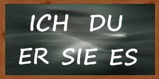 site du si e i you he she it in german