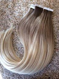 glue in extensions ombre 6 613 16 24 inch glue skin weft pu in human hair