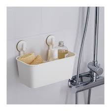 Bathroom Suction Shelves Stugvik Basket With Suction Cup Ikea