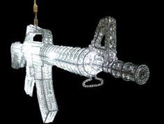 Gun Chandelier Oh My Freaking Goodness I Want This For The Home