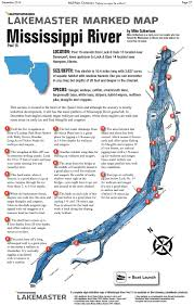Iowa Illinois Map Mississippi River Marked Map Midwest Outdoors