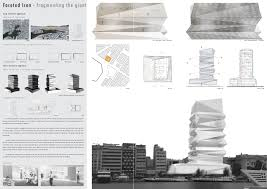 architecture design presentation layout architectural layouts