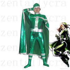 new x men rogue green superhero costume halloween party cosplay