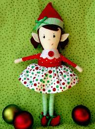 sewing patterns christmas elf doll pattern christmas elf girl doll pdf sewing by bluewhimsyetsy
