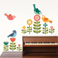 modern birds petit collage zoom