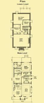 narrow lot cottage plans plain design small house plans narrow lot awesome ideas 9 cottage