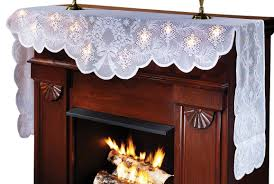 lighted mantel scarf home kitchen