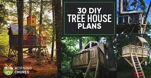 treehouse home plans 30 diy tree house plans design ideas for adult and kids 100 free
