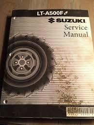 suzuki lt a500f lta500 lta 500 quadrunner oem service manual