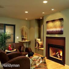 How To Install Recessed Lighting In Ceiling Installing Recessed Lighting For Dramatic Effect Family Handyman
