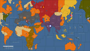 Ww2 Europe Map World War 2 Map Allies Axis And Roundtripticket Me