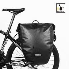 bicycle waterproofs rhinowalk long distance carry bag 26 l mountain bike bag bicycle