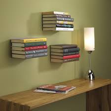 interior design three levels simple bookshelf above working desk