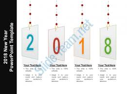 2018 new year powerpoint template timeline 2018 happy new year