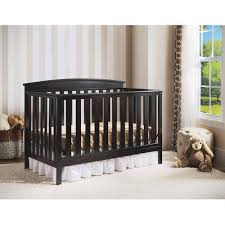 Delta 4 In 1 Convertible Crib Delta Children Gateway 4 In 1 Convertible Crib Black Walmart