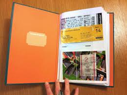 ticket stub album buy travel stub diary at mighty ape nz
