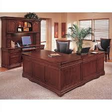 flexsteel rue de lyon executive l shaped desk 7684 5xa