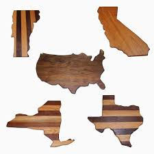 custom cutting boards handmade wood cutting boards custommade com united states cutting boards all states with laser engraving by allen swainston