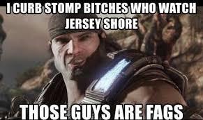 Jersey Shore Meme - i curb stop bitches who watch jersey shore meme xyz