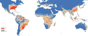 World Map Simple Vector by The Global Distribution Of The Arbovirus Vectors Aedes Aegypti And